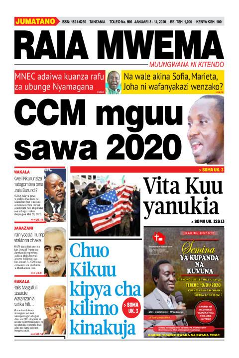 CCM mguu sawa 2020 | Raia Mwema