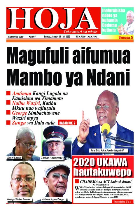 Magufuli aifumua Mambo ya Ndani | HOJA