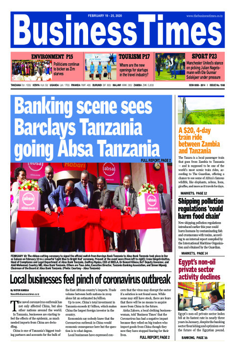 Banking scene sees Barclays Tanzania going Absa Tanzania | Business Times