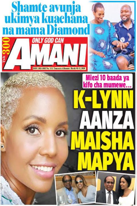 K-LYNN AANZA MAISHA MAPYA   AMANI