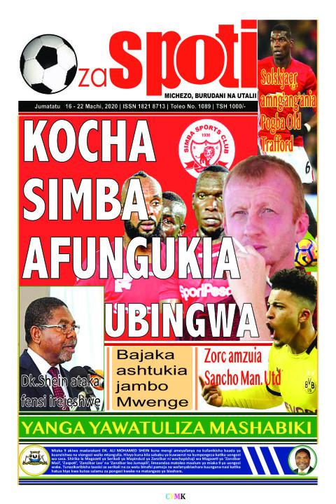 KOCHA SIMBA AFUNGUKIA UBINGWA | ZA SPOTI
