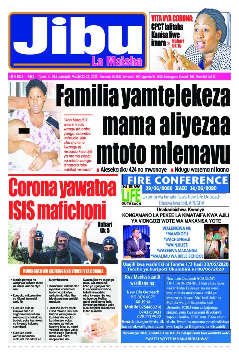 Corona yawatoa ISIS mafichoni | JIBU LA MAISHA