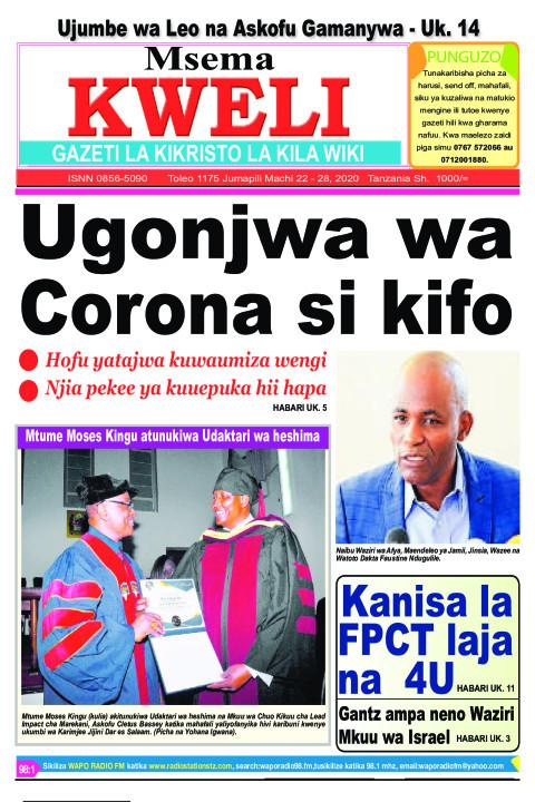 Ugonjwa wa Corona si kifo | MSEMA KWELI