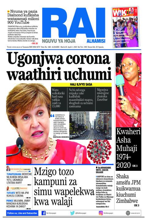 Ugonjwa corona waathiri uchumi | Rai