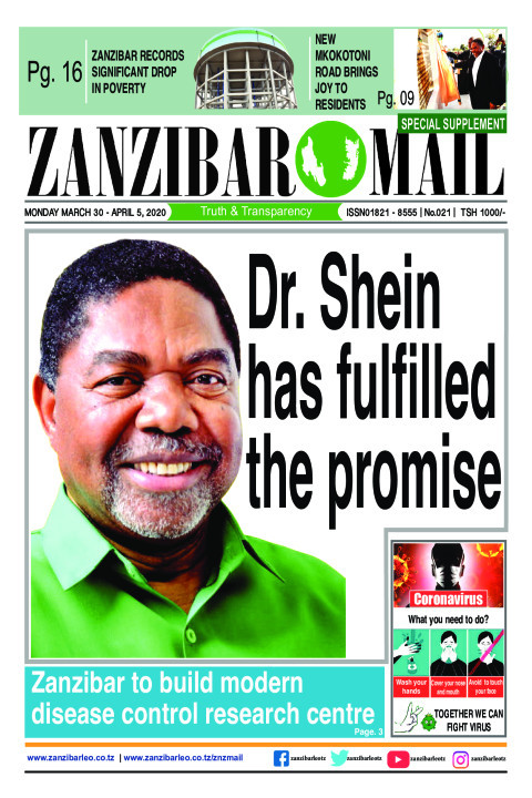 Dr. Shein has fulfilled the promise. | ZANZIBAR MAIL