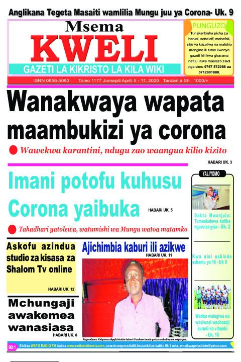 Wanakwaya wapata maambukizi ya Corona | MSEMA KWELI