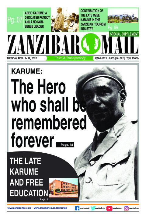 KARUME: The Hero who shall be remembered forever | ZANZIBAR MAIL