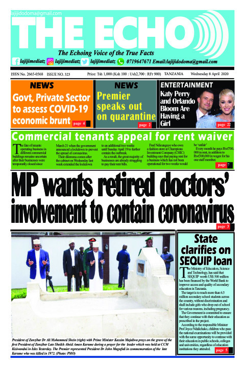 MP wants retired doctors' involvement to contain coronavirus | The ECHO