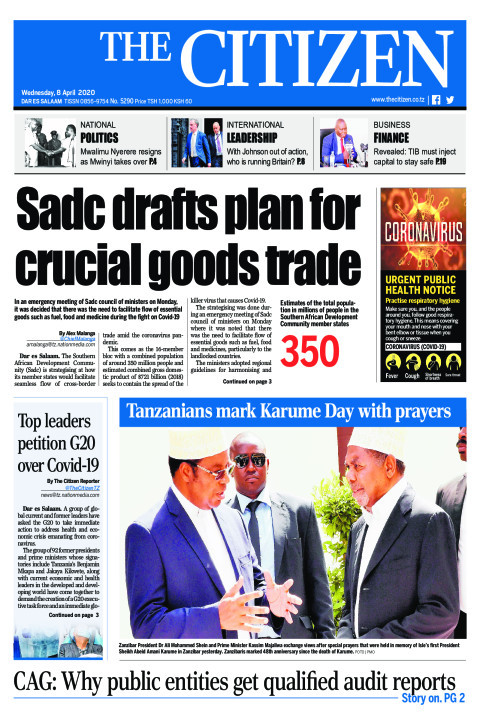 Sadc drafts plan for crucial goods trade | The Citizen