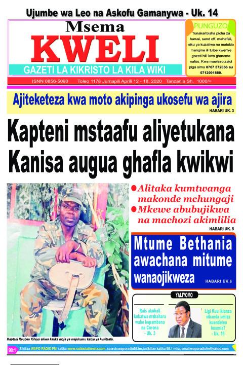 Kapteni mstaafu aliyetukana Kanisa augua ghafla kwikwi | MSEMA KWELI