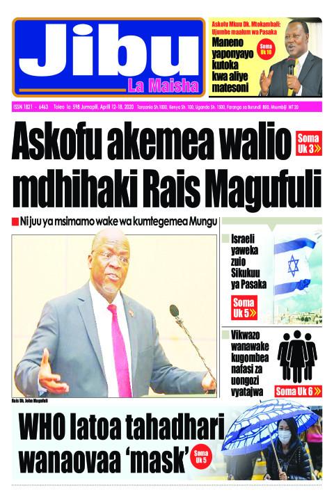 Askofu akemea walio mdhihaki Rais Magufuli | JIBU LA MAISHA