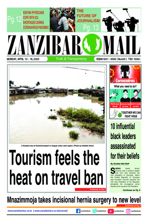 Tourism feels the heat on the travel ban | ZANZIBAR MAIL