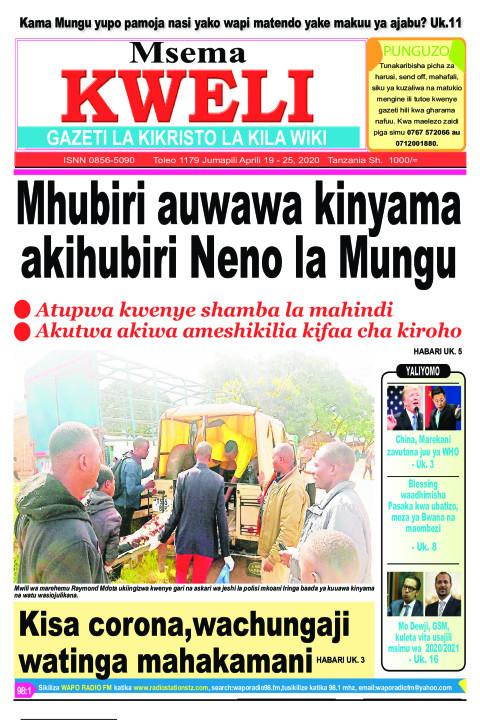 Mhubiri auawa kinyama akihubiri Neno la Mungu | MSEMA KWELI
