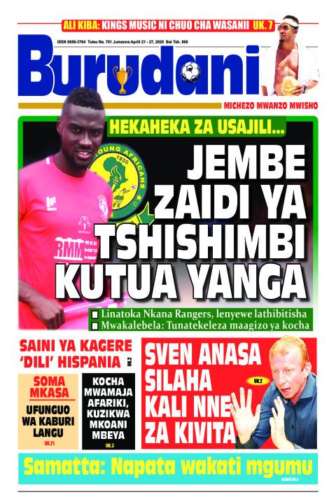 Jembe zaidi ya Tshishimbi atua Yanga | Burudani