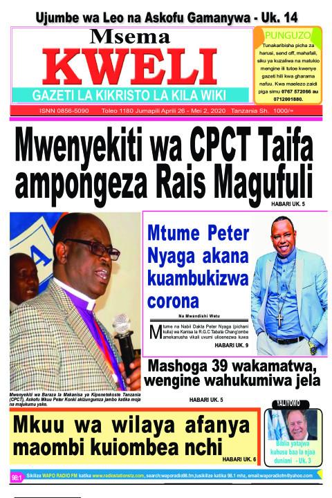 Mwenyekiti wa CPCT Taifa ampongeza Rais Magufuli | MSEMA KWELI