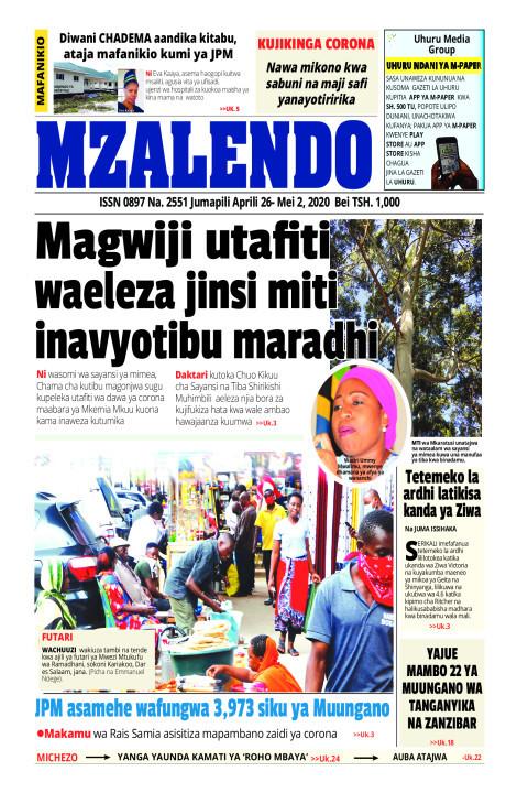 Wataalamu waelezea jinsi miti inavyotibu maradhi | Mzalendo