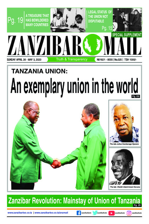 SPECIAL EDITION: TANZANIAN UNION - An exemplary union in the | ZANZIBAR MAIL