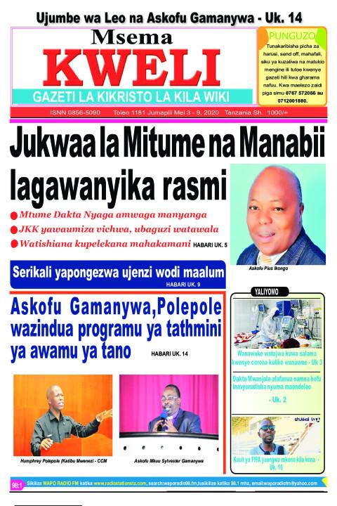 Jukwaa la Mitume na Manabii lagawanyika rasmi | MSEMA KWELI