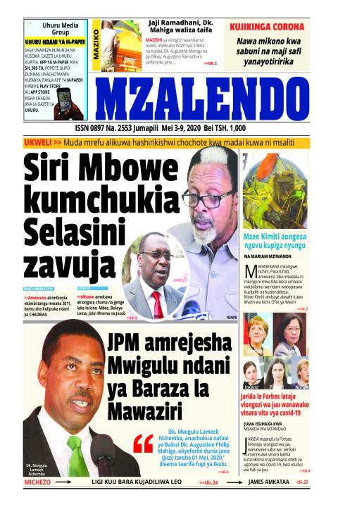 Siri Mbowe kumchukia Selasini zavuja | Mzalendo