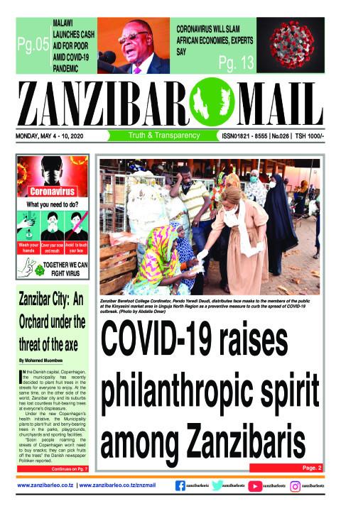 COVID-19 raises philanthropic spirit among Zanzibaris | ZANZIBAR MAIL