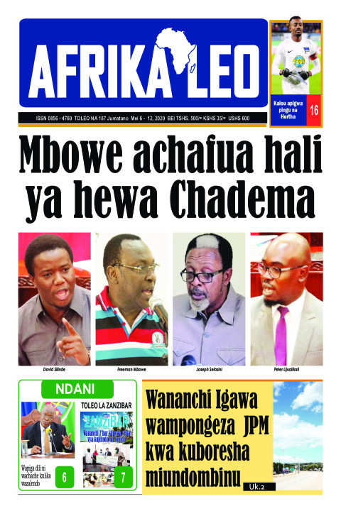 Mbowe achafua hali ya hewa CHADEMA | AFRIKA LEO
