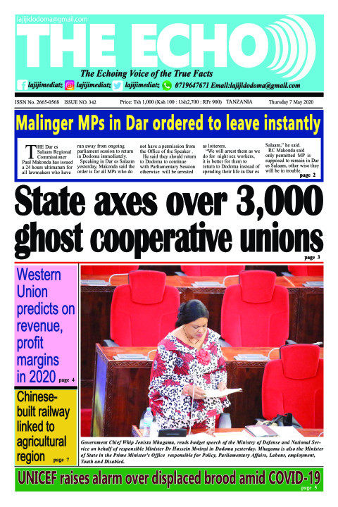 State axes over 3,000