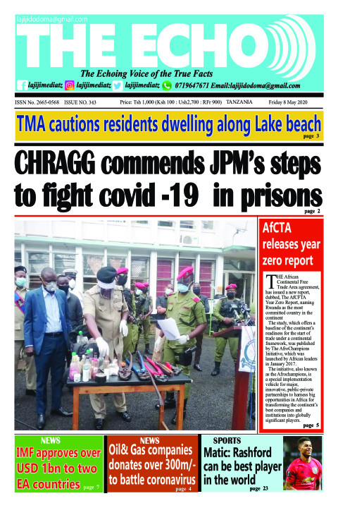 CHRAGG commends JPM's steps