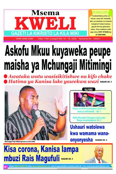 Askofu Mkuu kuyaweka peupe maisha ya Mchungaji Mitimingi | MSEMA KWELI