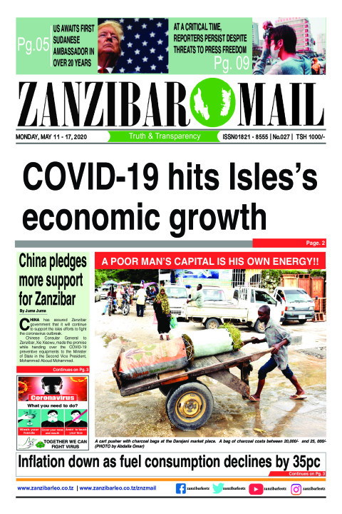 COVID-19 hits Isles's economic growth | ZANZIBAR MAIL