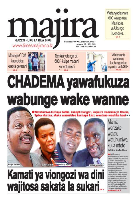 CHADEMA yawafukuza wabunge wake wanne   MAJIRA