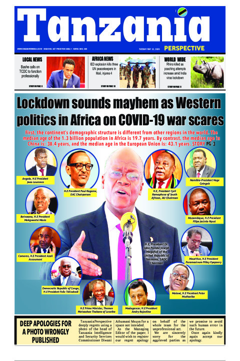 Lockdown sounds mayhem as Western politics in Africa on COVI | Tanzania Perspective