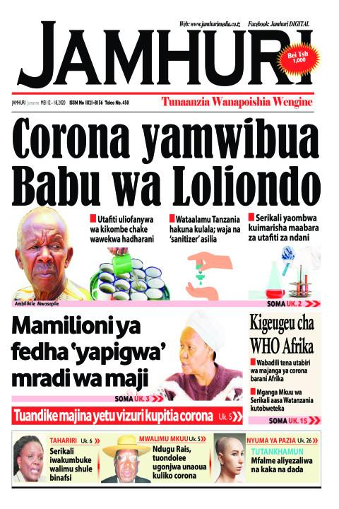 Corona yamwibua Babu wa Loliondo | Jamhuri