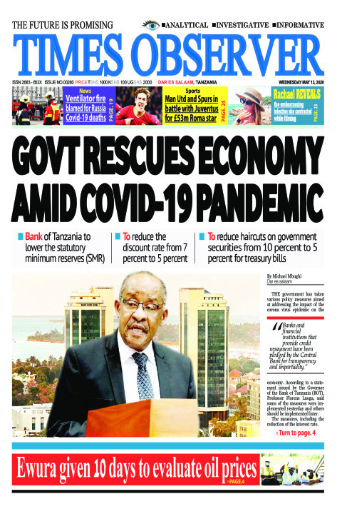 GOVT RESCUES ECONOMY AMID COVID-19 PANDEMIC | Times Observer