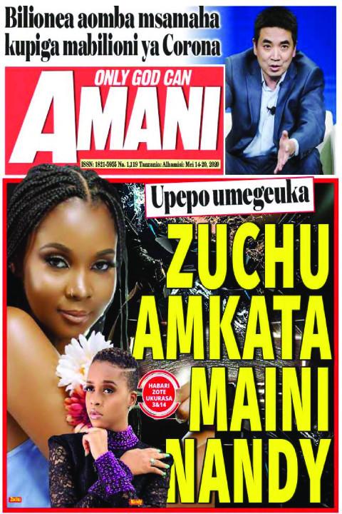 ZUCHU AMKATA MAINI NANDY | AMANI