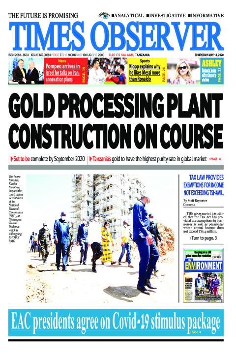GOLD PROCESSING PLANT CONSTRUCTION ON COURSE | Times Observer