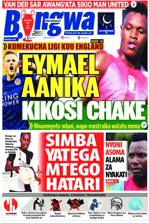 EYMAEL AANIKA KIKOSI CHAKE | Bingwa