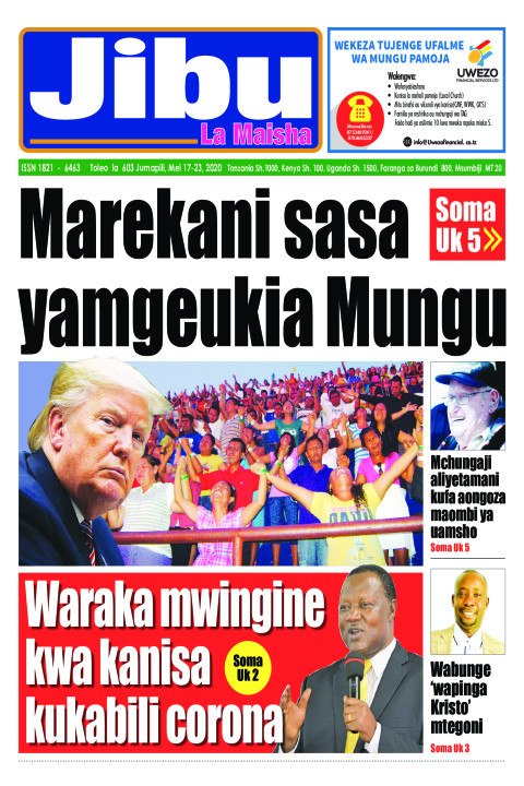 Marekani sasa yamgeukia Mungu | JIBU LA MAISHA