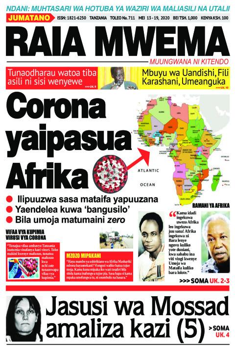 Corona yaipasua Afrika. | Raia Mwema