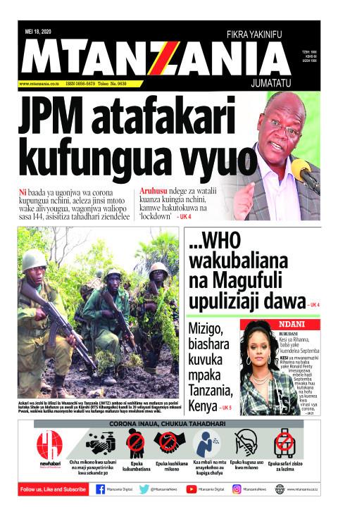 JPM atafakari kufungua vyuo | Mtanzania