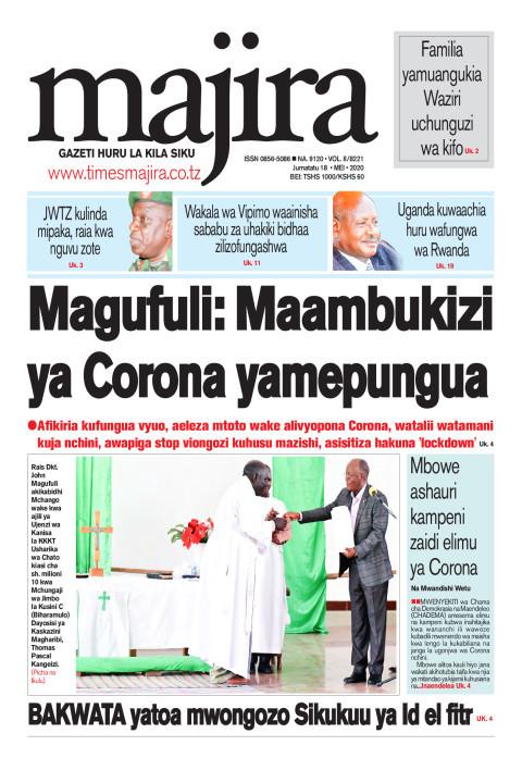 Magufuli: Maambukizi ya corona yamepungua   MAJIRA