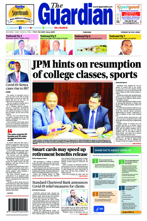 JPM hints on resumption of college classes, sports | The Guardian