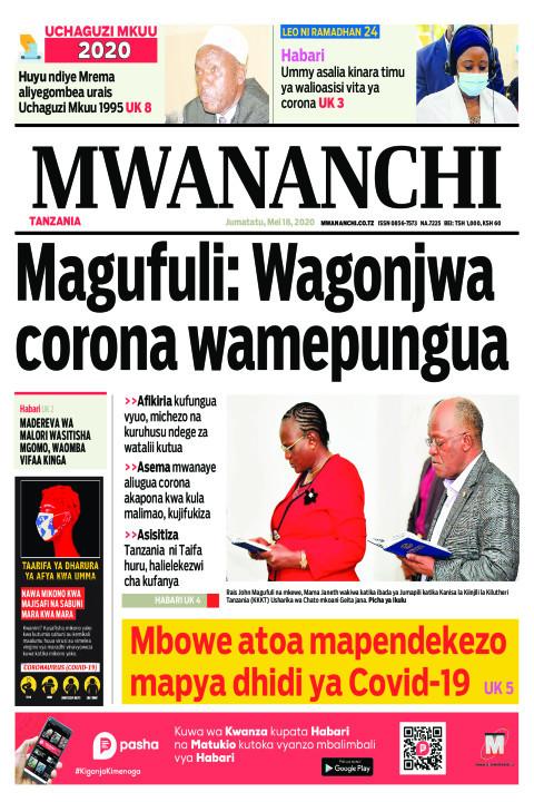 Magufuli: Wagonjwa corona wamepungua | Mwananchi