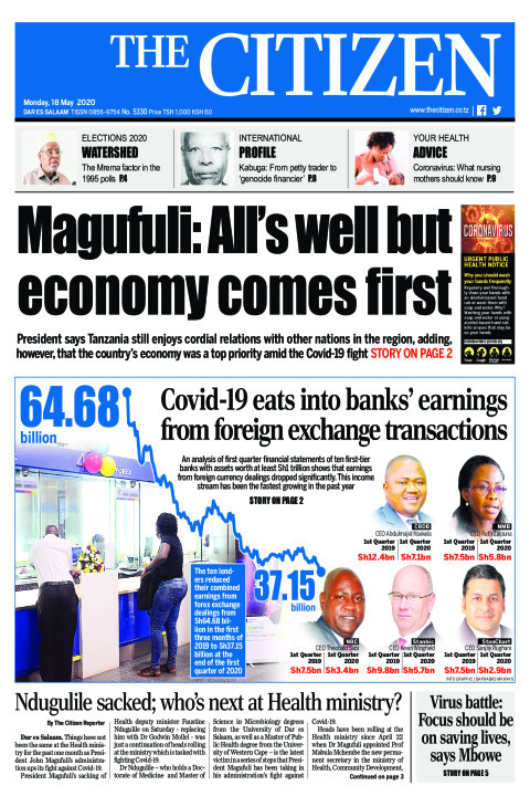 Magufuli: All's well but economy comes first | The Citizen