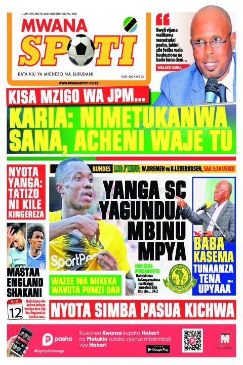KARIA: NIMETUKANWA SANA, ACHENI WAJE TU | Mwanaspoti
