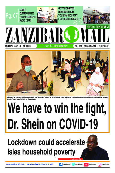 We have to win the fight, Dr. Shein on COVID-19 | ZANZIBAR MAIL