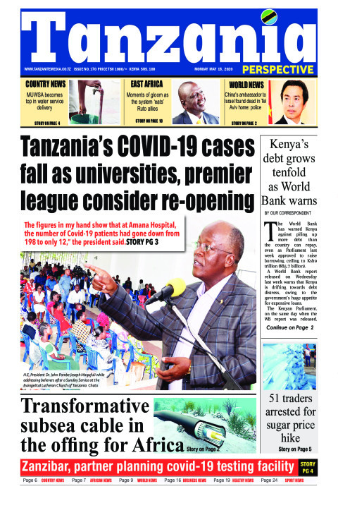 Tanzania's COVID-19 cases fall as universities, premier leag | Tanzania Perspective