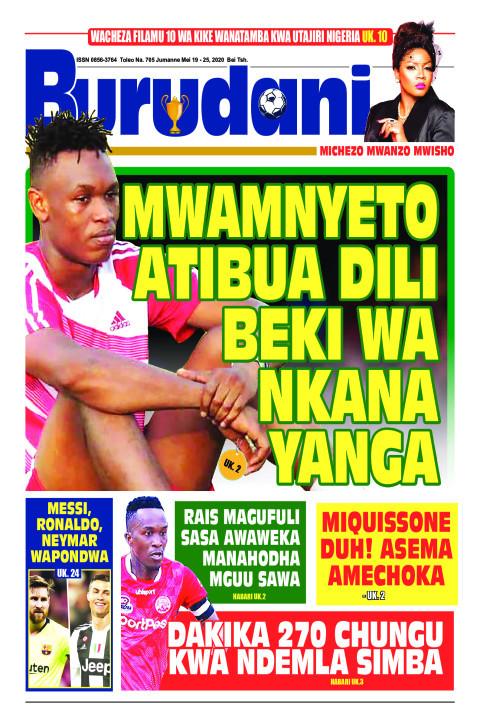 Mwamunyeto atibua dili beki wa Nkana Yanga | Burudani