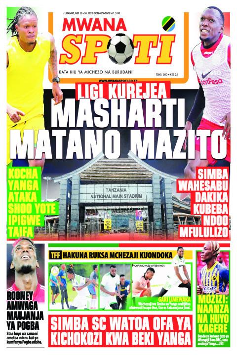 MASHARTI MATANO MAZITO | Mwanaspoti