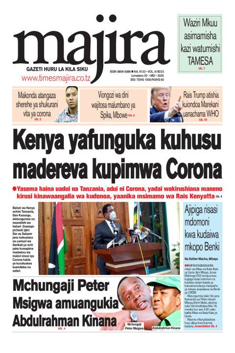 Kenya yafunguka kuhusu madereva kupimwa corona   MAJIRA