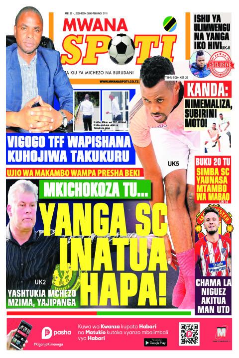 MKICHOKOZA TU.... YANGA SC INATUA HAPA | Mwanaspoti